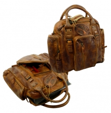 Old-school Jagos/ RUGGED-HIDE- (24)-WASHED-BROWN