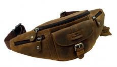 Belt-Bag / OLD-SCHOOL - (25)-vintage-brown