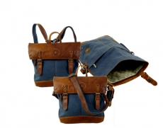 Rucksackbag Unisex / SAILCLOTH-(26)-Canvas-blue
