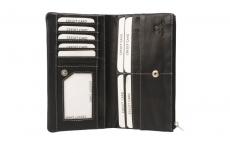 Karten- Ausweismappe  Black & White (20-schwarz)