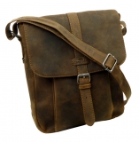Messenger high  / OLD-SCHOOL - (25)-vintage-brown