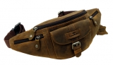 Belt-Bag / OLD-SCHOOL - (25)-vintage-brown