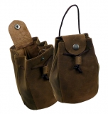 Tabak,-Coin Pouch / OLD-SCHOOL - (25)-vintage-brown