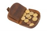 Coin-wallet New Grassland  (25-braun)