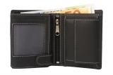 Mini Börse  Black & White (20-schwarz)