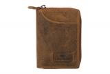 Börse / Karten Etui / OLD-SCHOOL- (25)-vintage-brown