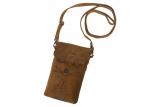 Handy- Cross Over Tasche ( Vintage-Anatomy  (25-braun)